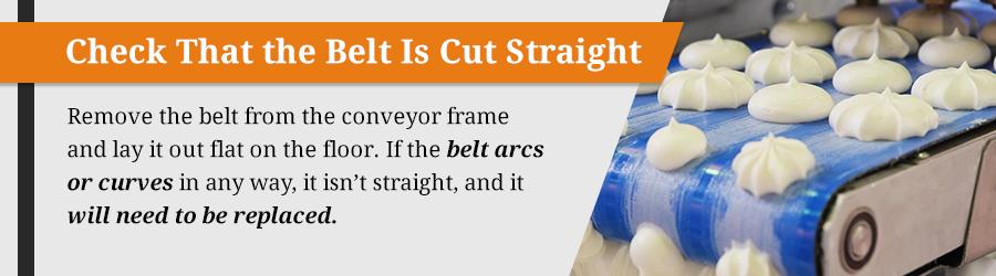 common conveyor belt problems