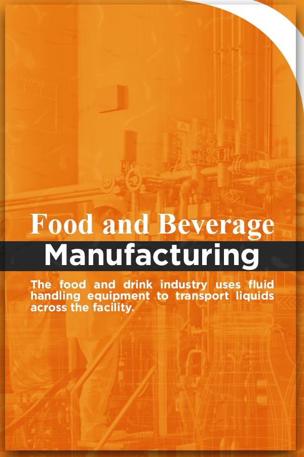 fluid handling in food and beverage industry