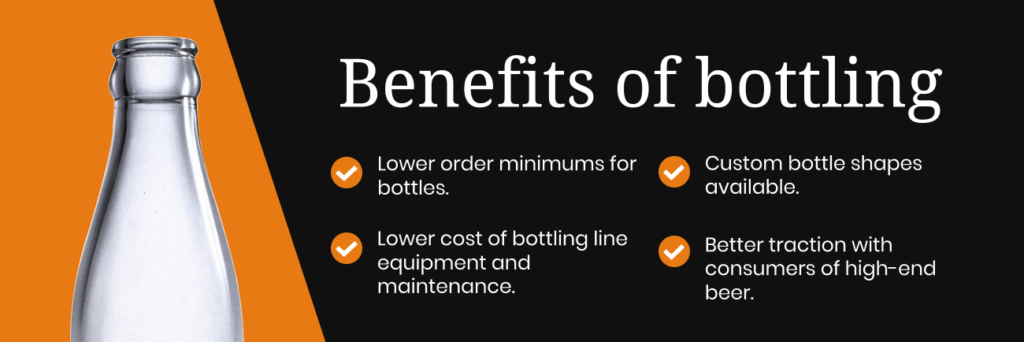 benefits of bottling for breweries