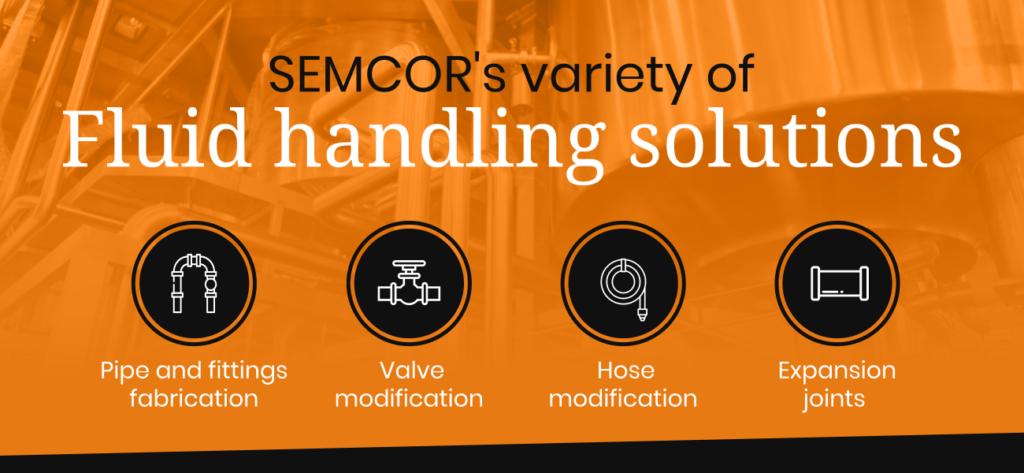 variety of fluid handling solutions